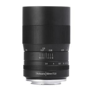 7artisans 60mm F2. 8 APS-C Magnification Macro Camera Lens for Fujifilm X-Pro2