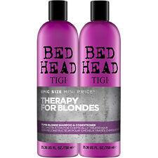 Tigi Dumb Blonde Bed Head Tween/Duo 750ML Shampoo & Balsamo