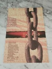 Film/Movie Premiere Brochure From London's Leicester Square - Amistad (1997)