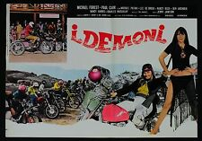 FOTOBUSTA 3, I DEMONI The Dirt Gang JERRY JAMESON, MOTOCROSS, POSTER AFFICHE