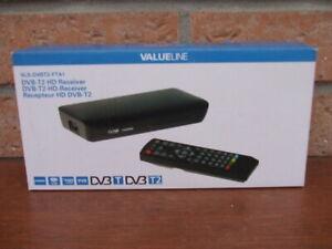Recepteur TNT HD valueline modèle VLS-DVBT2-FTA1 neuf en boite