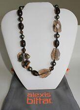 ALEXIS BITTAR Elements Semiprecious Stones Beaded Necklace NWT $295