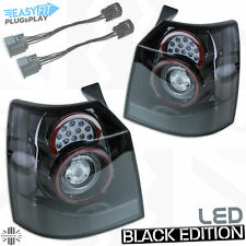 Black LED Rear light for Freelander 2 2012-14 style for 2007-12 tail lamp smoked