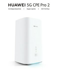 HUAWEI 5G CPE Pro 2 _ H122-373  3.6 Gbps New model WLAN AX