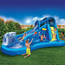 Inflatable Water Slide Pool Bounce House Swimming Backyard Commercial Bouncer