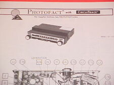 1975 MEDALLION FM-MPX RADIO SERVICE MANUAL 65-320 CHEVROLET FORD CHRYSLER DODGE