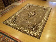 8 x 11.4 Handmade Fine Quality Semi Antique Persian Yalameh Soft Silky Wool Rug