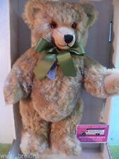 Schildkröt Teddy ca.36 cm mit grüner Schleife u.Brummstimme #7
