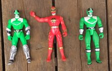 Bandai Power Rangers 2000 Green & 2003 Red Action Figures 6?