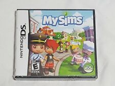 NEW (Read) My Sims Nintendo DS Game SEALED EA mysims sim simulation US NTSC