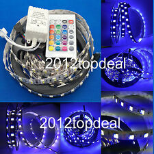 1-5M 5630 60Led/M White/Blue 12V adjustable Dimmable LED Strip Light &controller