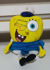 SPONGEBOB SQUARE PANTS CHARACTER PLUSH TOY IN SAILOR SUIT SOFT TOY NICKELODEON