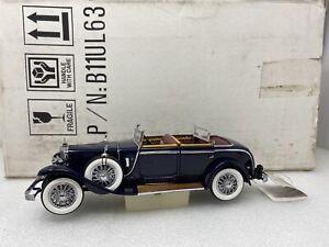 1/24 Franklin Mint 1926 Mercedes - Benz Model K Blue Part # B11UL63