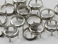 Size 40 SILVER RIM SETTINGS FOR BEDAZZLER OR GEMAGIC  - 50/CNT