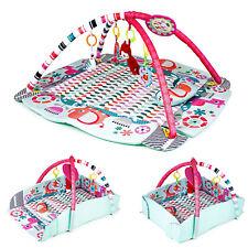 Krabbeldecke Spieldecke Spielbogen Erlebnisdecke Baby Gymcenter mit Rand CC9637