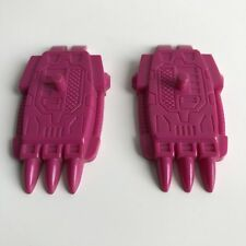 Transformers G1 Seacons Snaptrap part Piranacon PAIR of BOTH Feet 2x
