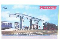 VOLLMER 3534 HO - STATION PLATFORM WITH GLASS CANOPY AND KIOSK