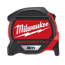 Milwaukee 8 metros premium-bandmass magnético con 27mm Una Amplia BAND