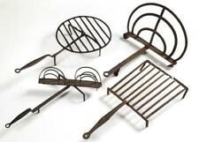 Assorted Wrought Iron Hearth Articles, Lot Of Four Lot 1458