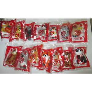 2021 McDonald's TY Teenie Beanie Boos Set of 14 Free Ship in USA Mint in Package