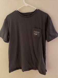 Quiksilver Waterman Paradise Organic Short Sleeve Pocket T-Shirt Men's Large