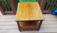 Henredon End Table /French Regency End Table / Chairside Table / With Drawer #2