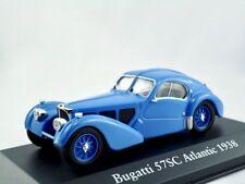 Bugatti 57sc ATLANTIC 1938 Blu/IXO/Atlas 1:43