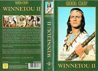 (VHS) Winnetou II - Lex Barker, Terence Hill, Karin Dor, Pierre Brice (1964)