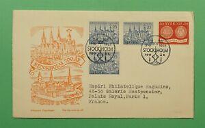 DR WHO 1953 SWEDEN FDC STOCKHOLM 700TH ANNIV  C241654