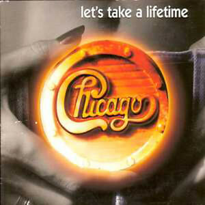 CD single ChicagoLet's take a lifetime CARD SLEEVE 2-track NEW