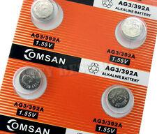 10 x PILES AG3 SR41 SG3 192 384 392 Alkaline Battery Omsan