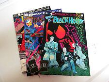 LOT 3* IMPACT COMICS * BLACK HOOD *1992 # 4. # 5 &  # 6.  V/G+ TO F/F