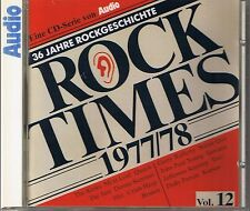 Audio Rock Times vol. 12 1977-78 CD Various AUDIOPHILE
