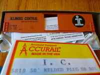 Accurail HO #5819 (I.C.) Rd.#11594 Welded Plug Dr Box 50' (Kit Form)