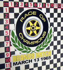 1965 Race of Champions Sticker - Europa Elan 7 Cortina