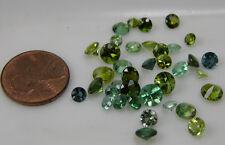 16.25ct Brazil 100% Natural Papraiba Indiicolite GreenTourmaline Gemstones 3-6mm