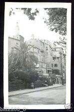 PHOTO ANCIENNE  MENTON   1934  LA VIEILLE VILLE