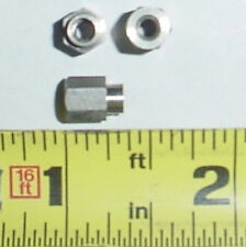 """25 ea 6-32 x 356"""" F-F Shouldered Standoffs Stainless"""