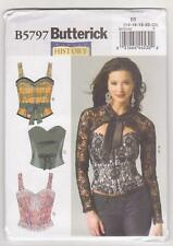 Butterick Sewing Pattern B5797 History - Corset, Sash and Shrug Costume Sz 14-22