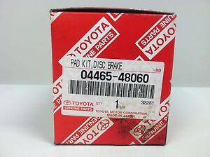 NEW RX300 OEM (ORIGINAL  MANUFACTURER) FRONT BRAKE PADS