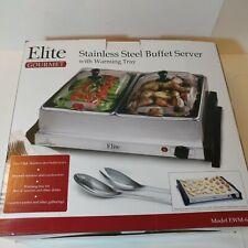 Maxi Matic Elite Gourmet Buffet Server, Stainless Steel EWM-6122 (SPG030399)