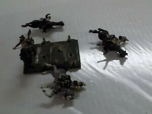 Jack Scruby 30mm Napoleonic French Cuirassiers Painted (4) Blown up