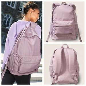 VS VICTORIAS SECRET PINK CLASSIC BACKPACK TOTE TRAVEL BAG DREAMY LILAC