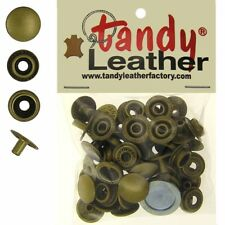 Tandy Leather 5/16 Inch Line 24 Snap fastener kit CT.15 w/Tools - Brass