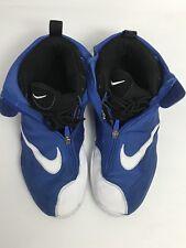 Nike Air Zoom Flight The Glove Royal Blue Devils White Black 616772-400 Sz 11