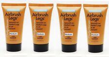 4 x Sally Hansen Airbrush Legs Medium travel/sample size .75 Oz