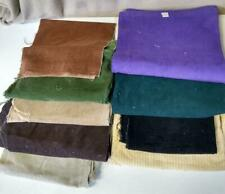Multi-Colored Multi-Weight Corduroy Pieces for Quilts, Scrap Crafts 6.5 Lbs #2