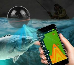 Fish Finders Echo Sounder Portable Wireless 48m/160ft Detector Alarm Warehouse