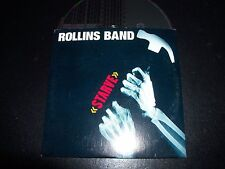 Rollins Band / Henry Rollins Starve Rare Australian Card Sleeve 4 Trk CD Single