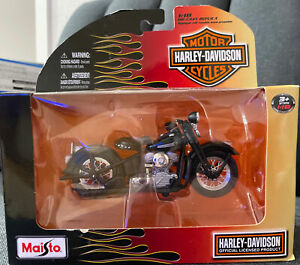 2010 Maisto 1:18 Harley Davidson Series 27 1948 FL Model Die Cast Replica 31360